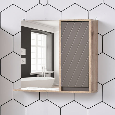 Wall Mounting Bathroom Cabinet With Mirror
