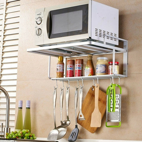 2Tier Wall Mount Microwave Rack Bracket