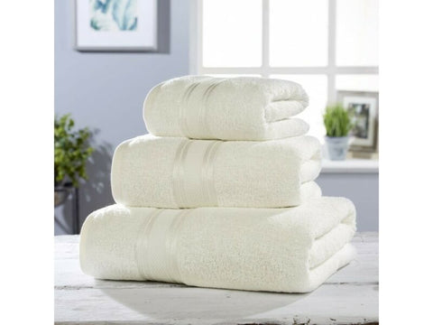 Cream Luxury Soft Cotton Towel Set