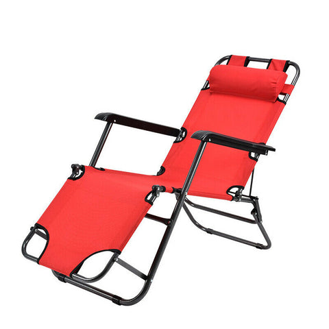 Outdoor Folding Sun Lounger Chair