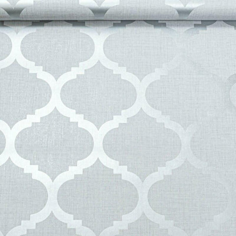 Light Grey Geometric Wallpaper