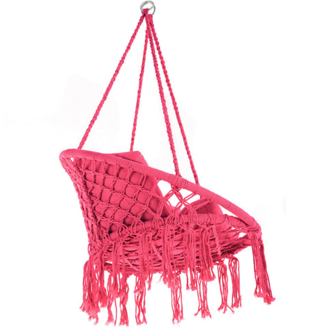 Hanging Cushioned Hammock Chair