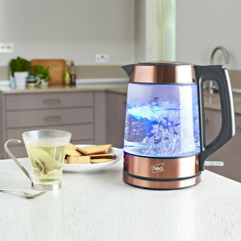 Nordic Cordless Illuminated Glass Kettle