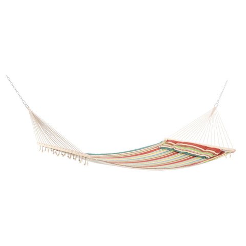 Outdoor Swing Bed Hammock With Pillow