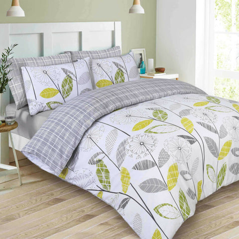 Allium Check Duvet Set