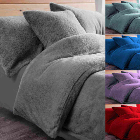 Winter Warm Fleece Bedding Set