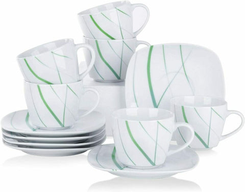Porcelain Dinnerware Set/Saucers Mugs