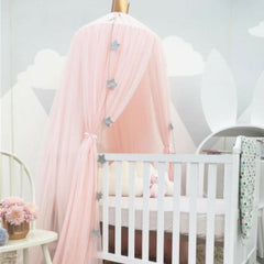 Canopy Insect Net - Pink