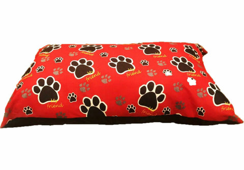 REMOVABLE ZIPPED DOG BED