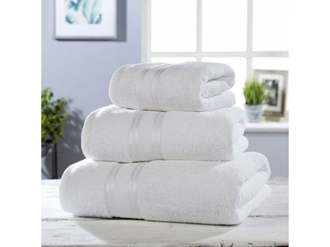 Luxury Soft Cotton Towel Set (White)