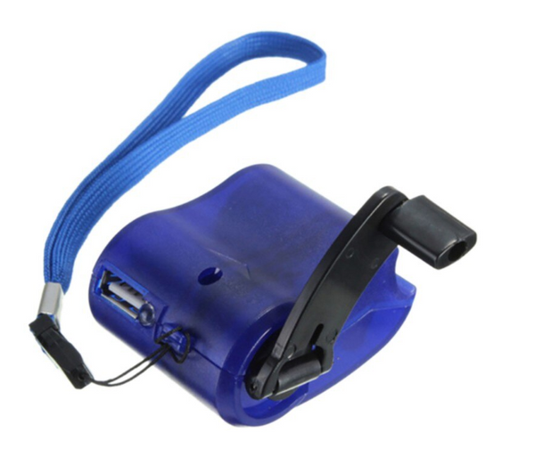 Hand Crank USB Charger