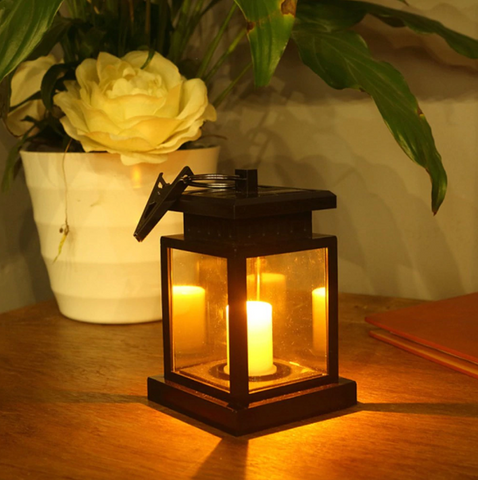 Solar Lantern LED Candle Light