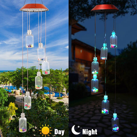 Solar Wind Chimes LED Lights