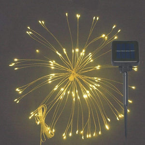 Solar Fireworks LED Lights