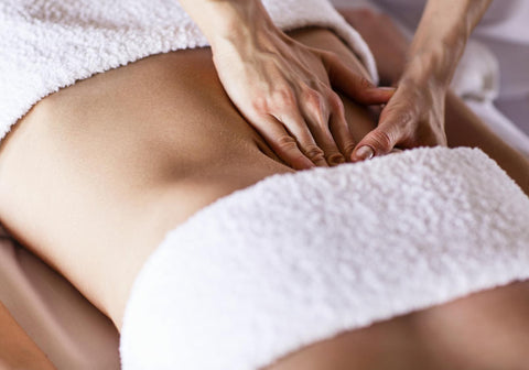 massage du ventre contre la constipation