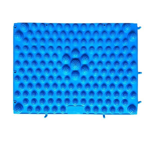 tapis de massage bleu