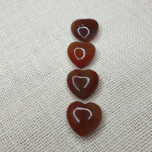 Load image into Gallery viewer, Carnelian Small Hearts