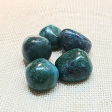 Load image into Gallery viewer, Chrysocolla Tumble Stone