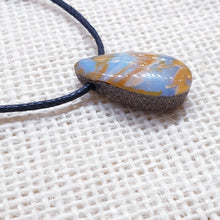 Load image into Gallery viewer, Drilled Boulder Opal Pendant