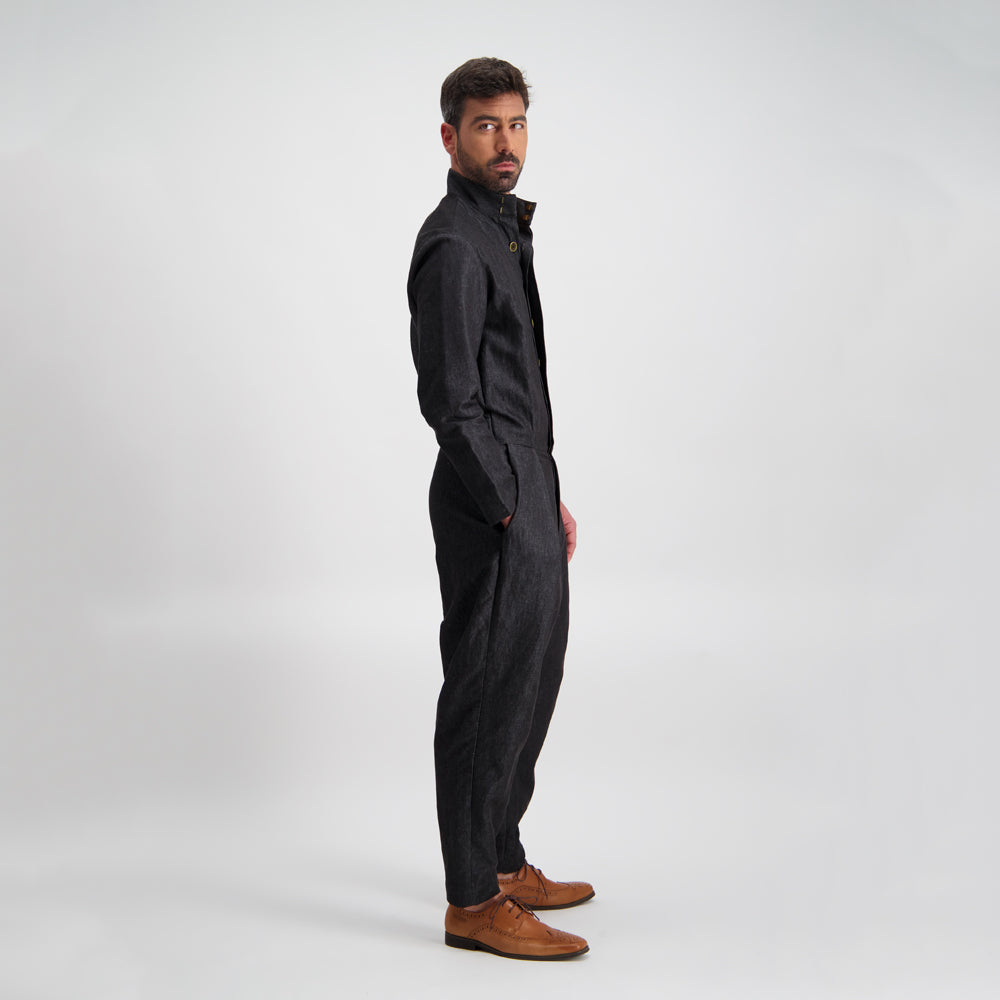 Mechanica Jumpsuit - Black