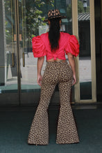 Load image into Gallery viewer, Super Flare Leopard Pants