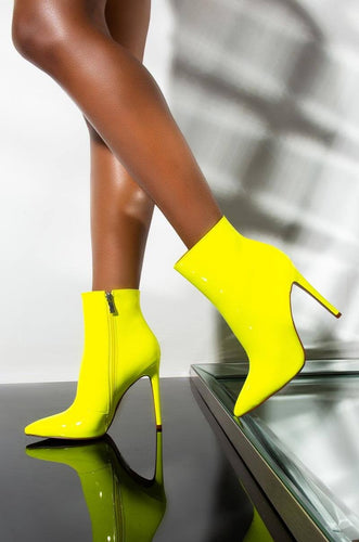 Lime Time Short Bootie