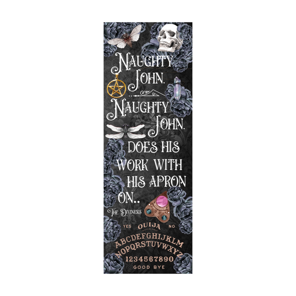 "The Diviners ""Naughty John""  bookmark"