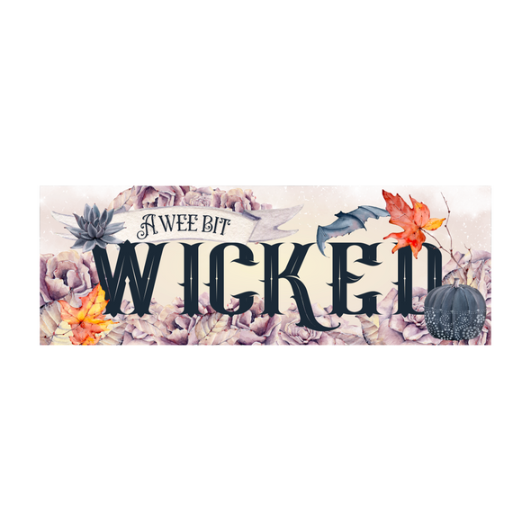 A Wee Bit Wicked bookmark