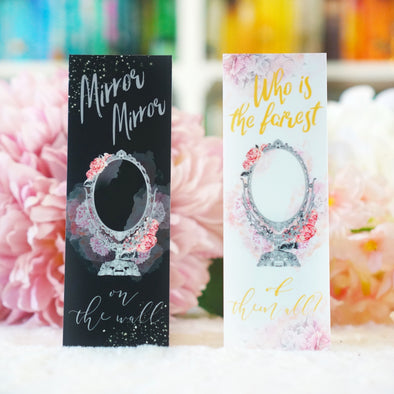 Mirror Mirror bookmark SET