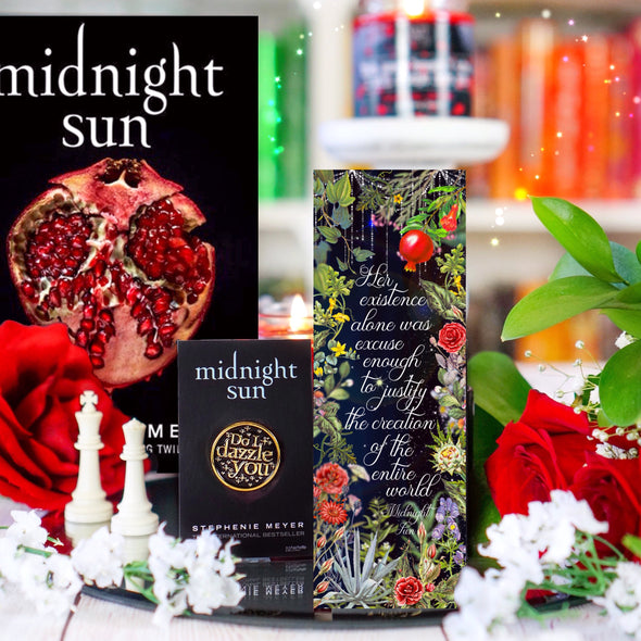 Midnight Sun inspired bookmark