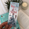 "Christmas ""Wish upon a starfish"" bookmark"