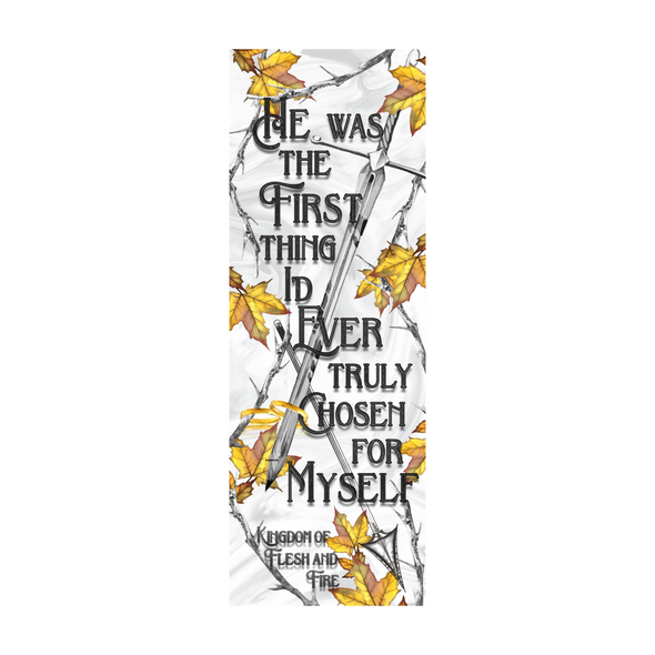 "Kingdom of Flesh and Fire ""Chosen"" bookmark"