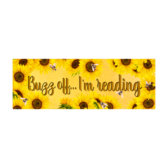 Buzz Off bookmark