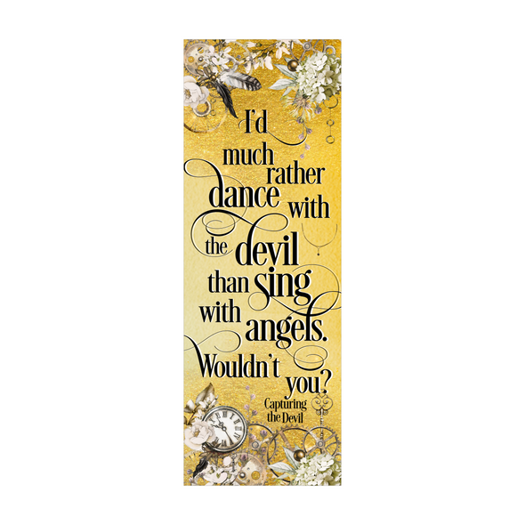 "Capturing the Devil ""Dance"" bookmark"