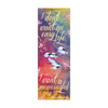 "Girls of Paper and Fire ""A meaningful life"" bookmark"