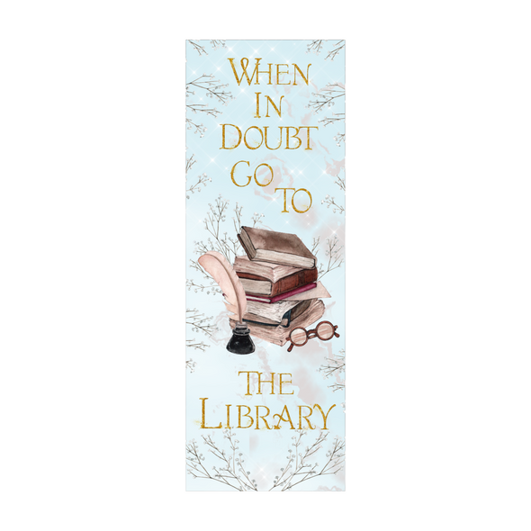 Go to the Library bookmark