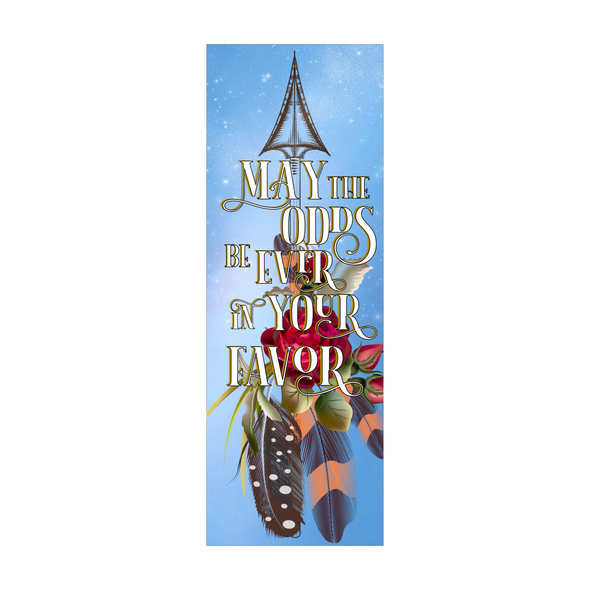 "The Hunger Games ""Odds"" bookmark"