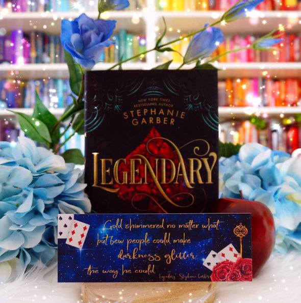 "Legendary ""Darkness Glitter"" bookmark"