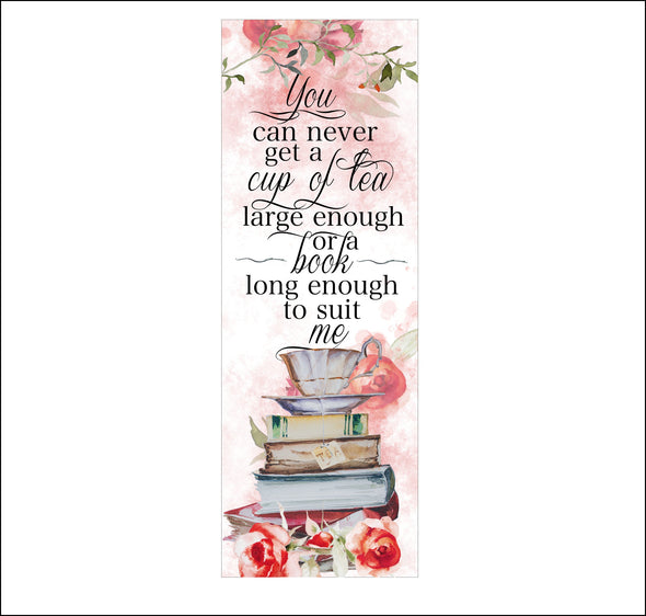 "C.S. Lewis ""Cup of Tea"" bookmark"