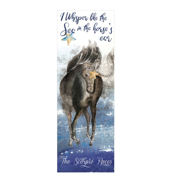 "The Scorpio Races ""Whisper"" bookmark"