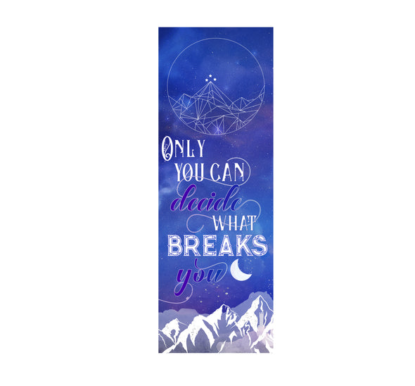 "A Court of Wings and Ruin ""Only you"" bookmark"