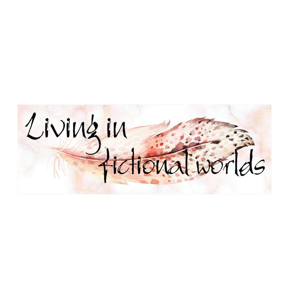 Living in Fictional Worlds bookmark