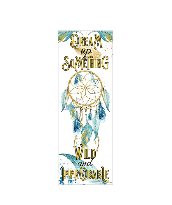 "Strange the Dreamer ""Dream up something"" bookmark"