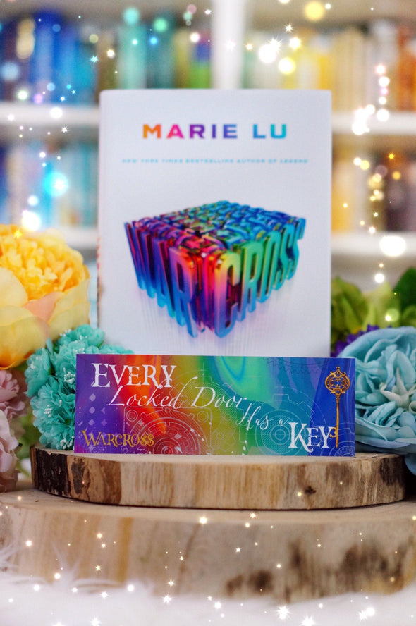 "Warcross ""Every door"" bookmark"