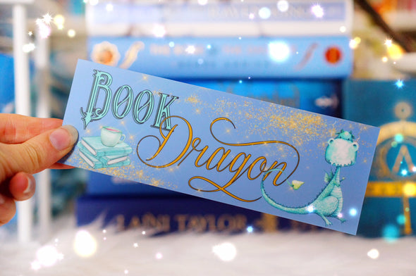 Blue Book Dragon bookmark