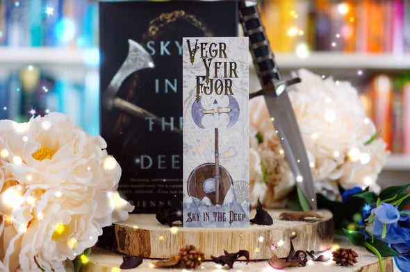 "Sky in the Deep ""Honor above life"" bookmark"