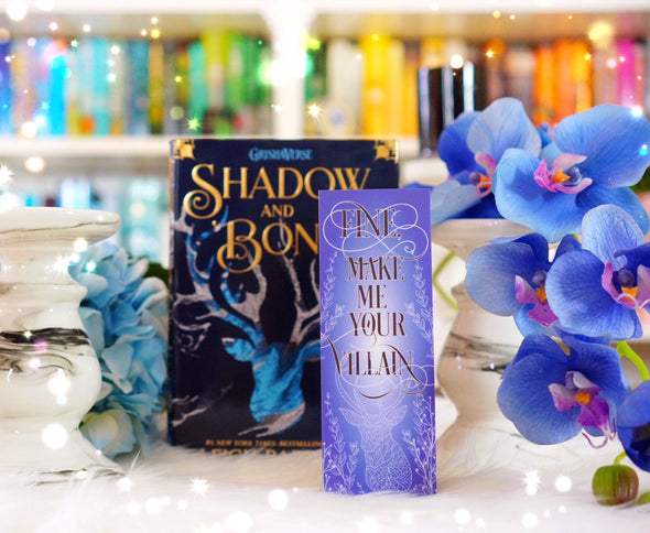 "Shadow and Bone ""Villain"" bookmark"