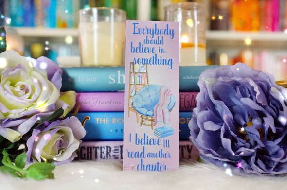 Believe in Something bookmark