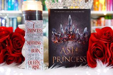 "Ash Princess ""Princess of Ashes"" bookmark"