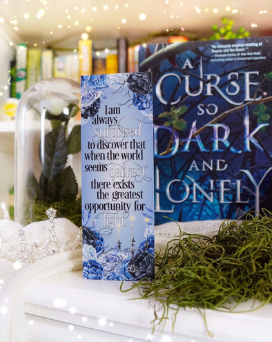 "A Curse so Dark and Lonely ""Light"" bookmark"